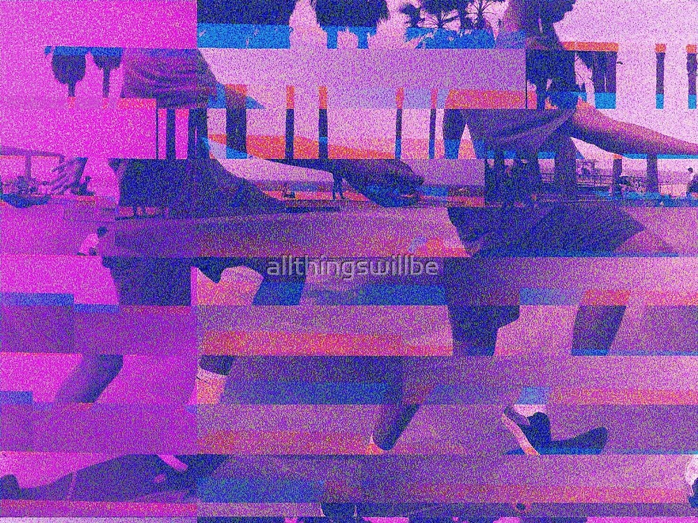 Double Glitch by allthingswillbe