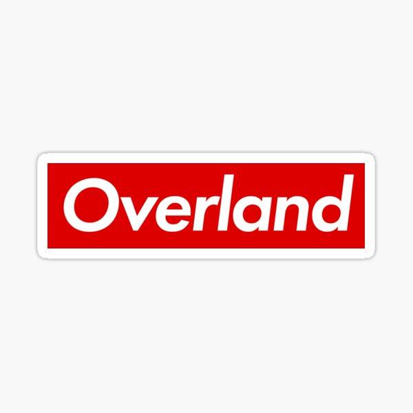 Overland R_Bar Sticker