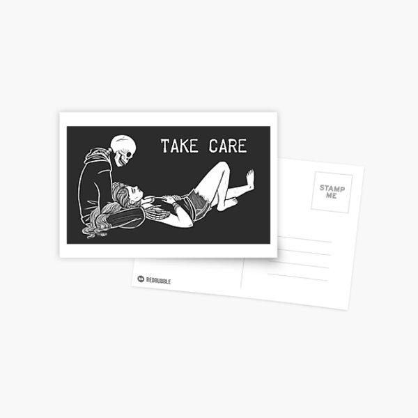 Take Care - Art Card Postcard