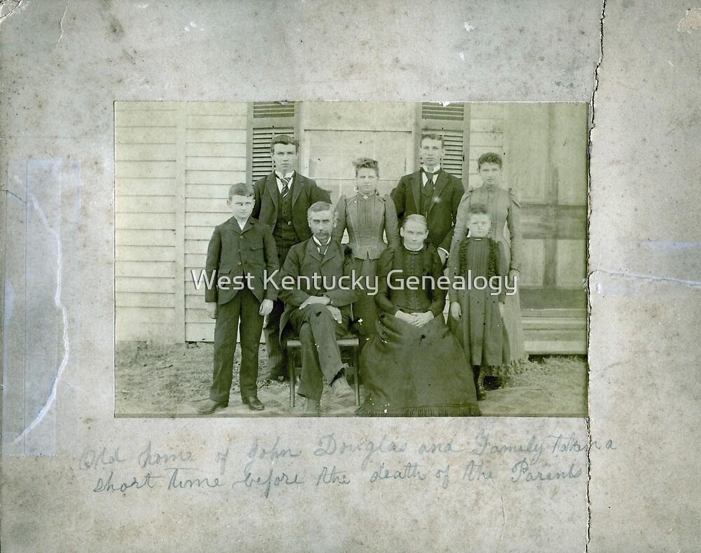 John Douglas & Family by Don A. Howell