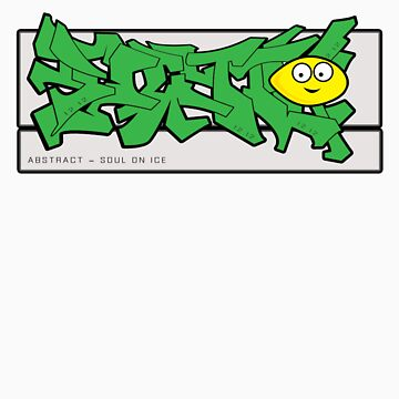 abstract graff - green remix by bergy