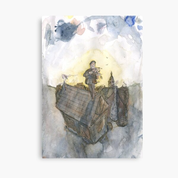 The Fiddler on the Roof Canvas Print