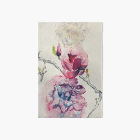 Spring Blooms  Art Board Print
