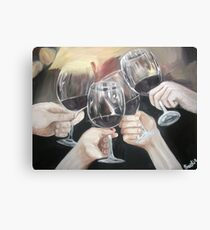 Salud! Canvas Print