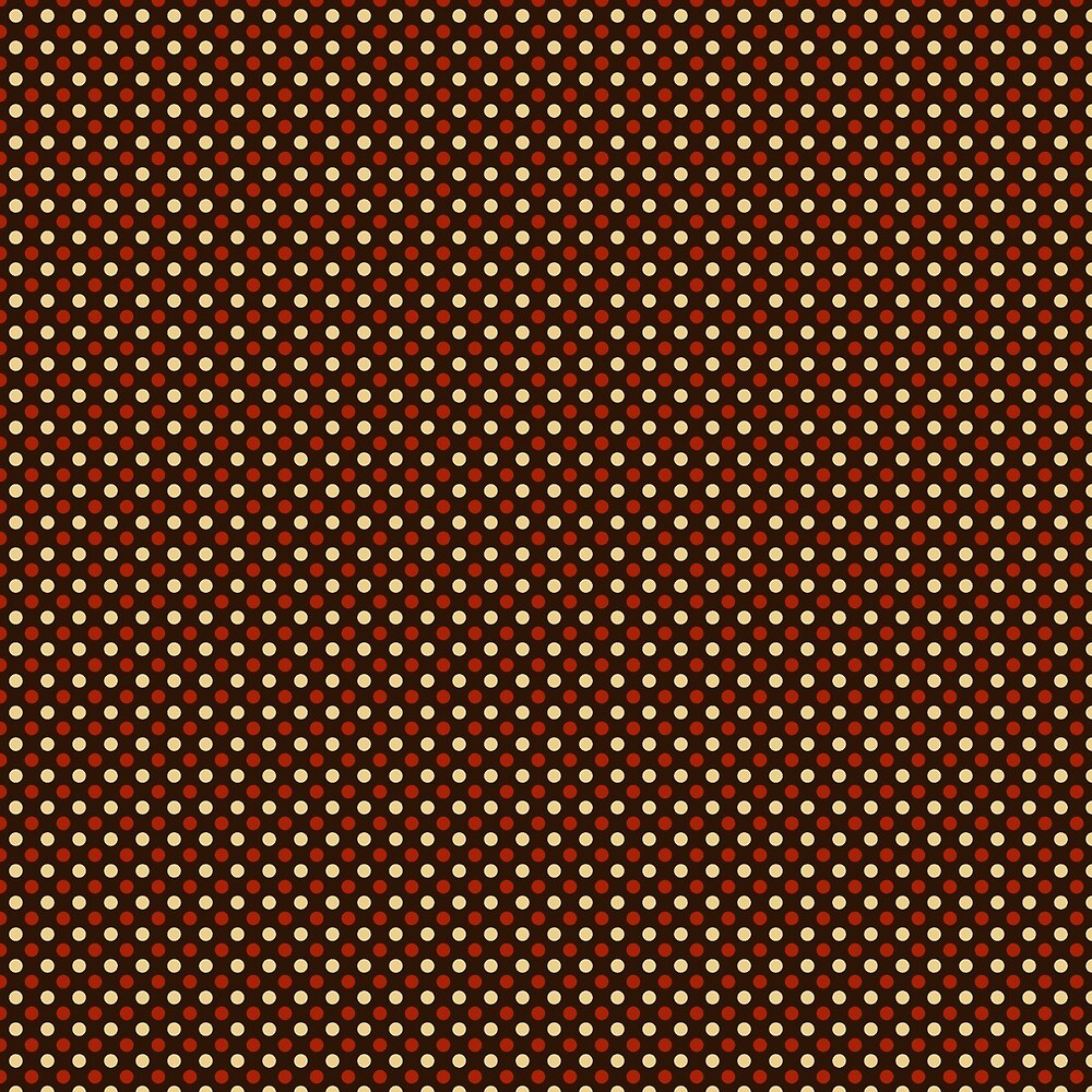 Brown Vintage Abstract Pattern by AbstractCreatur