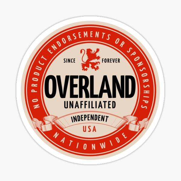 Unaffiliated Overland Sticker