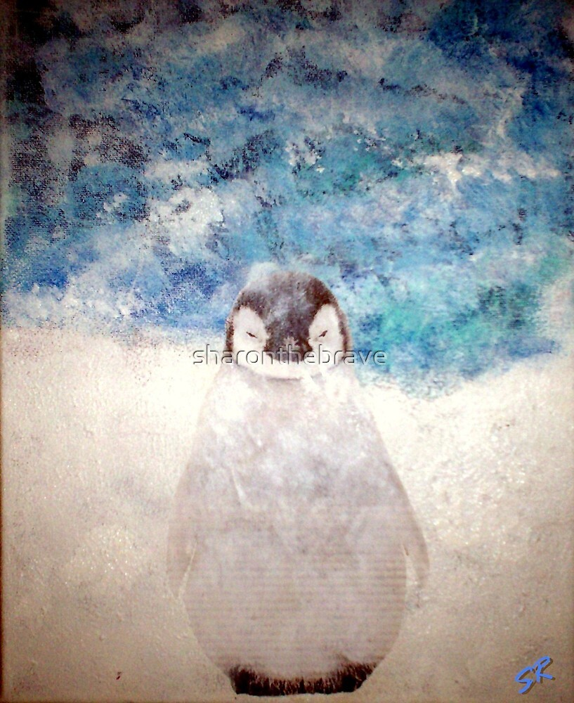 baby penguin by sharonthebrave