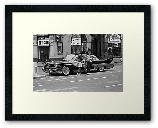 Classic American car, 1976 by David Fowler