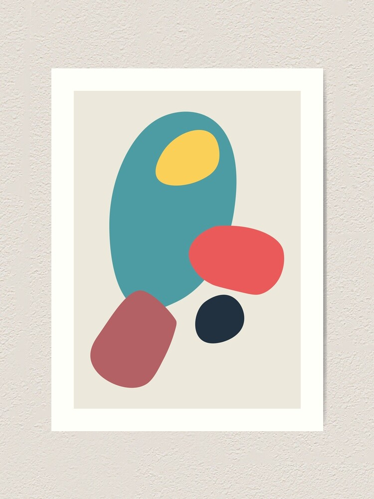 Alternate view of Abstract No.19 Art Print