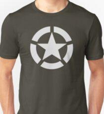 Camiseta ajustada Estrella Aliada (Blanco)