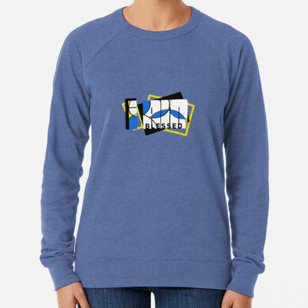 I Am Blessed Color Lightweight Sweatshirt