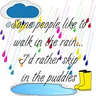 Skip in the Puddles by DesignsByDebQ