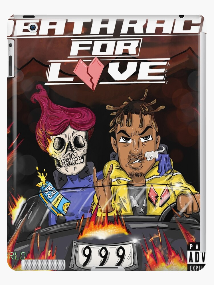 'Juice Wrld - Death Race For Love' iPad Case/Skin by Dunbok