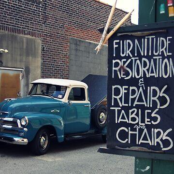 furniture restoration by eelsblueEllen