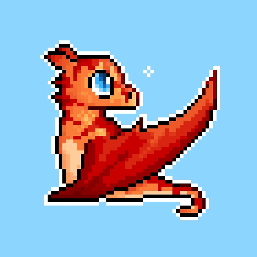 Tiny Dragon by Ashley Dadoun