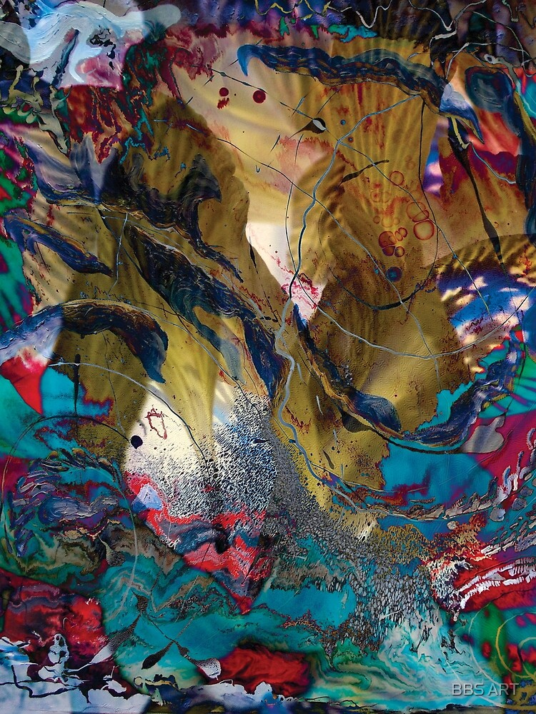 fairy impression abstract art by brunobenedetti