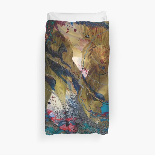 fairy impression abstract art Duvet Cover