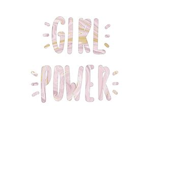 girl power marble by ragray