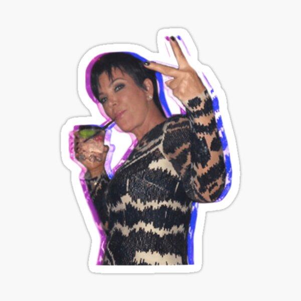 Kris Jenner Sticker