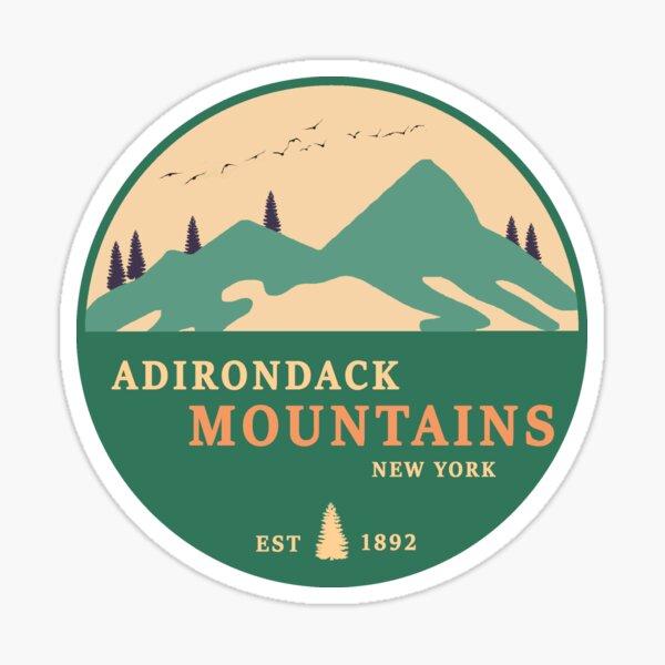 The Adirondacks  Sticker
