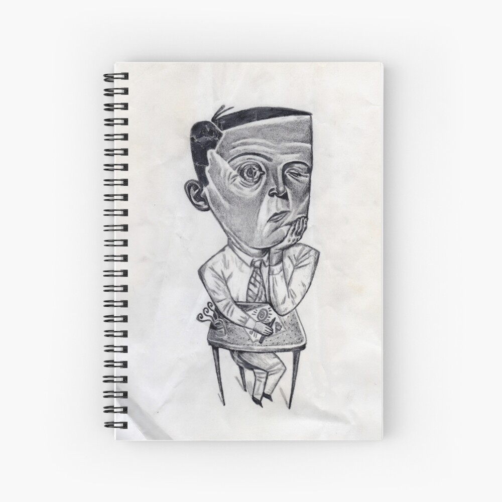 Stay Awake! Spiral Notebook