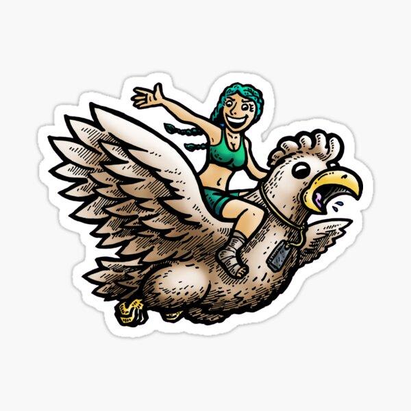 Wendy Flew the Coop - Survivor Edge of Extinction Comic Sticker