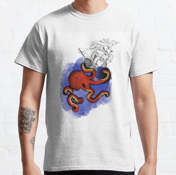 Kraken v Ship Classic T-Shirt