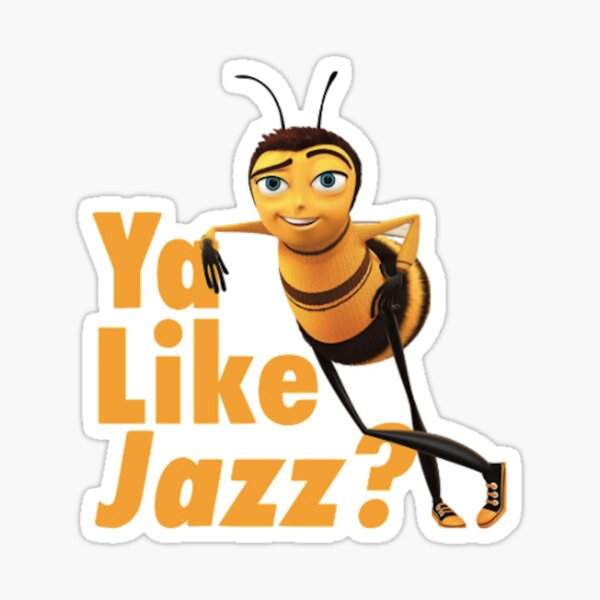 Ya Like Jazz Sticker