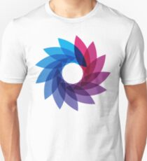 Camiseta unisex Bisexual Pride Abstract