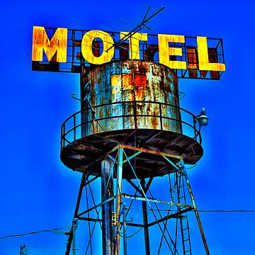 Avalon Motel Water Tank Sign by DigitalHowie