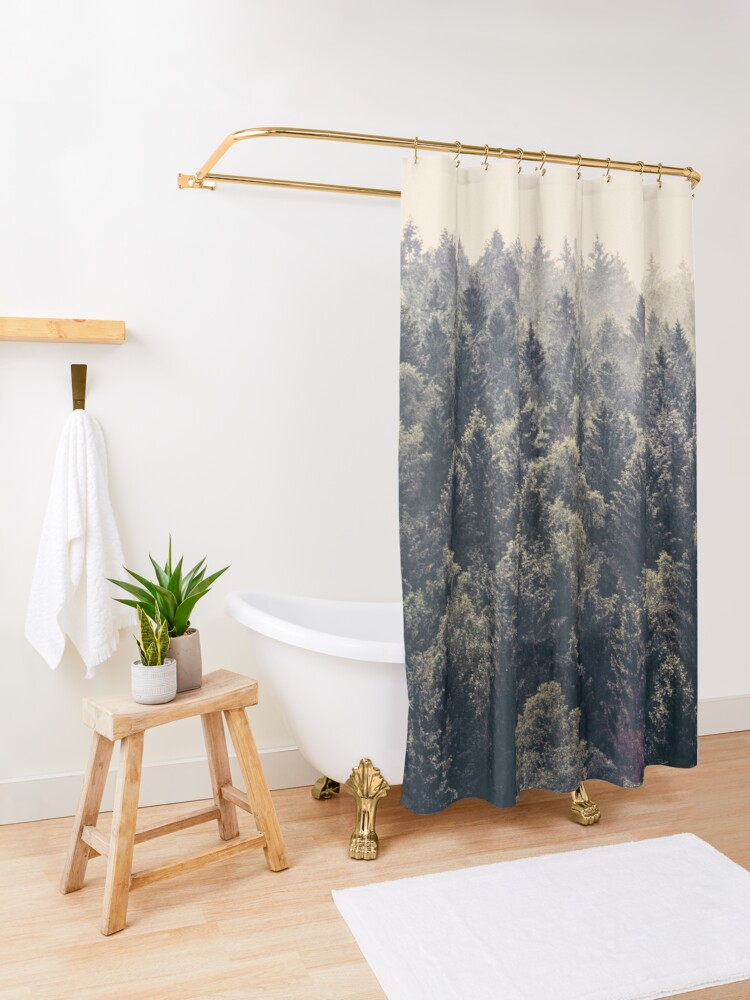 Alternate view of Come Home Shower Curtain