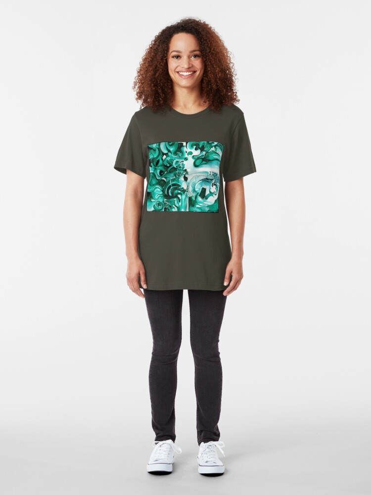 Alternate view of Dragon Egg Slim Fit T-Shirt