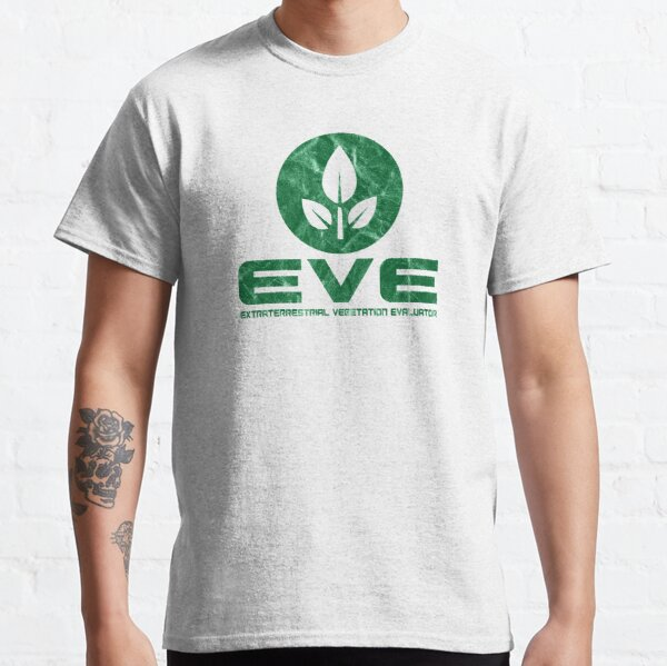 Eve - Extraterrestrial Vegetation Evaluator - Wall E Inspired Classic T-Shirt
