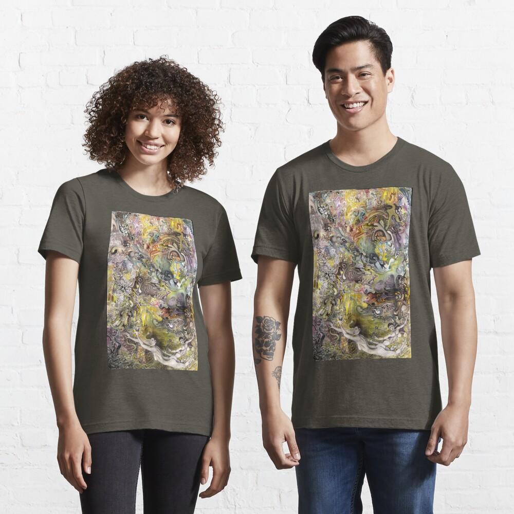 Portrait Yin Yang Essential T-Shirt