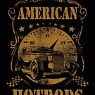 American Hotrods T-shirt by Hawley Designs