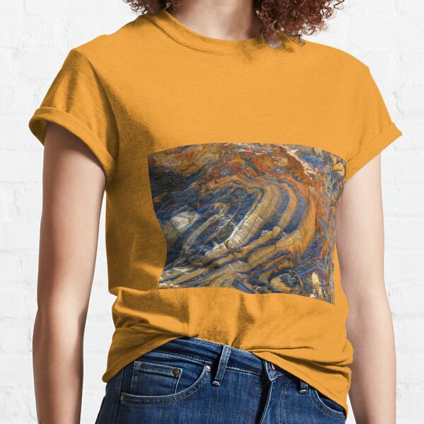 Rock swirls in nature 3 Classic T-Shirt