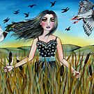 Among the Cattails by stephanie allison