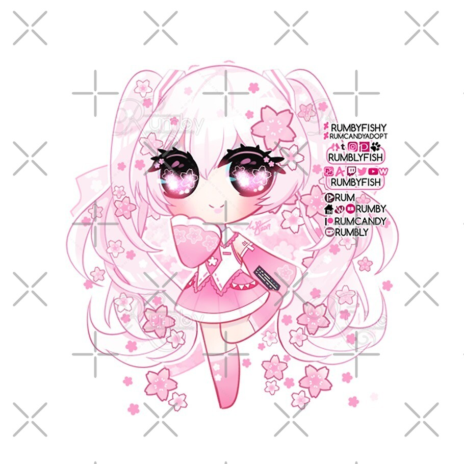 Ⓢⓐⓚⓤⓡⓐ Ⓜⓘⓚⓤ Chibi by Rumby