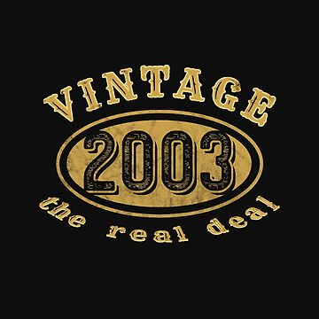 Vintage 2003 Birthday by RiffXS