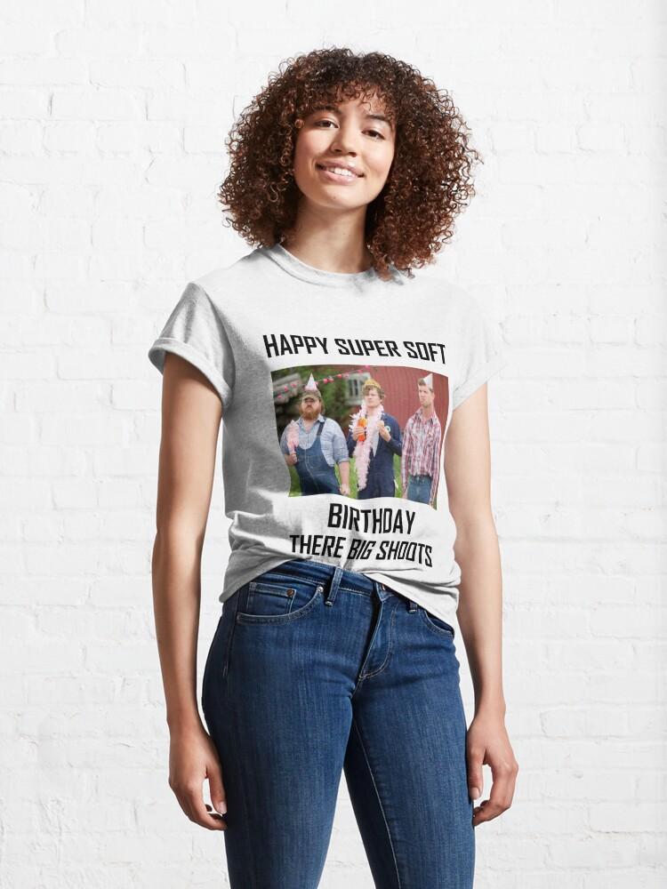 Alternate view of Letterkenny Happy Super Soft Birthday Classic T-Shirt