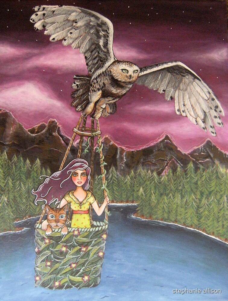 Fly By Night by stephanie allison