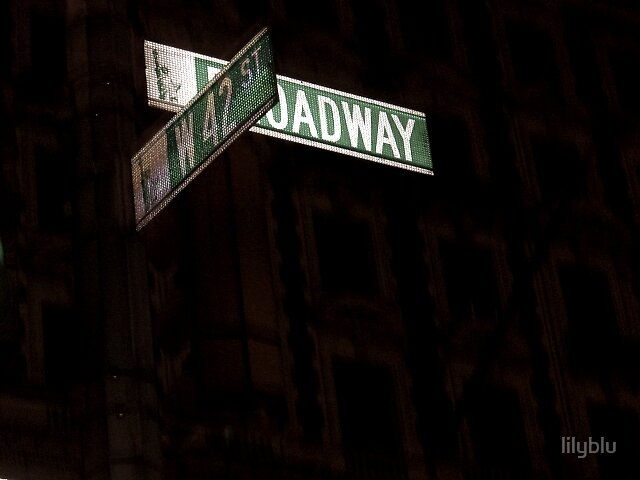 Meet Me on Broadway by lilyblu