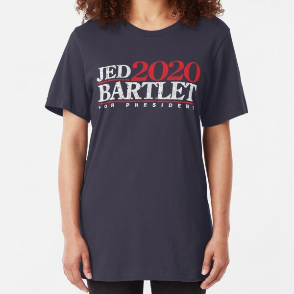 Jed Bartlet 2020 Slim Fit T-Shirt
