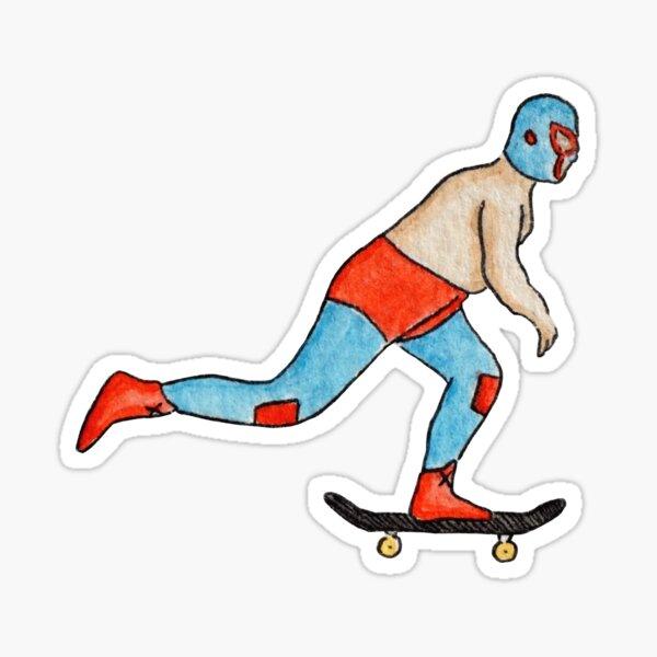 Nacho Skateboarding Sticker