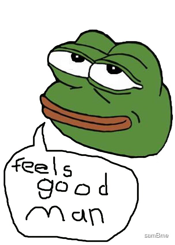 Quot Rare Happy Pepe Quot By Sambme Redbubble