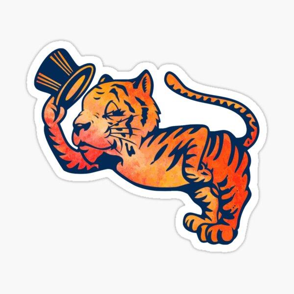 Clemson Tiger Hat Sticker