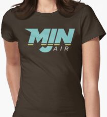 MJN Air Logo Women's Fitted T-Shirt