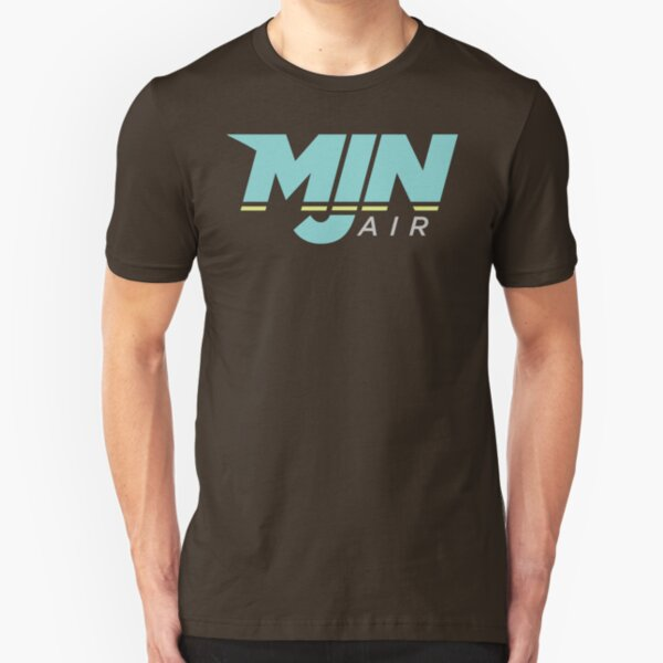 MJN Air Logo Slim Fit T-Shirt