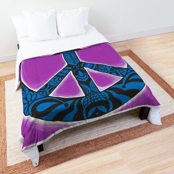 Peace Illuminated Comforter