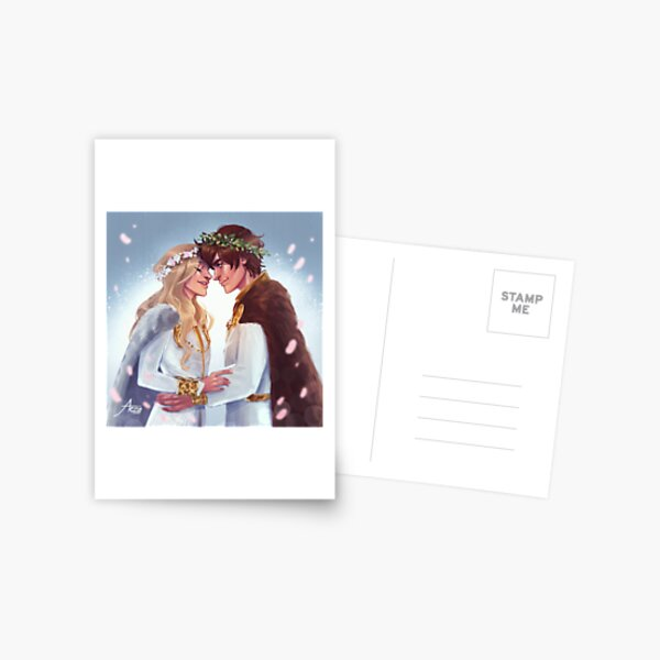 Hiccup & Astrid Wedding Postcard